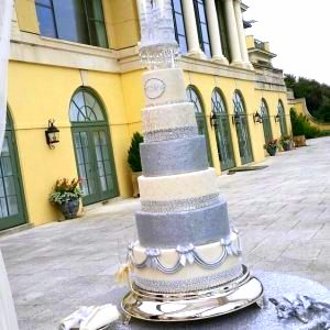 Tower Wedding Cake